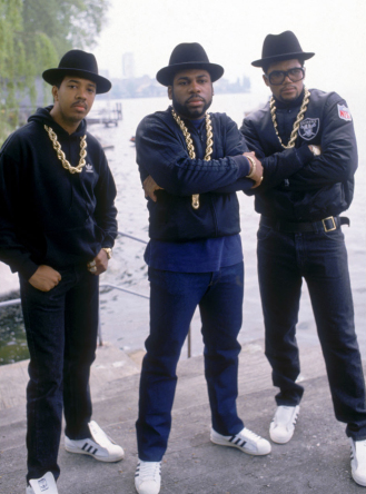 The hip hop lovers of the time were all dressed like this without